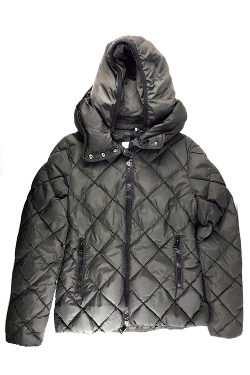 Diamond Quilted Down Jacket