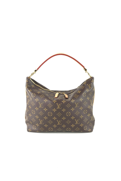 Monogram Coated Canvas Sully PM Bag