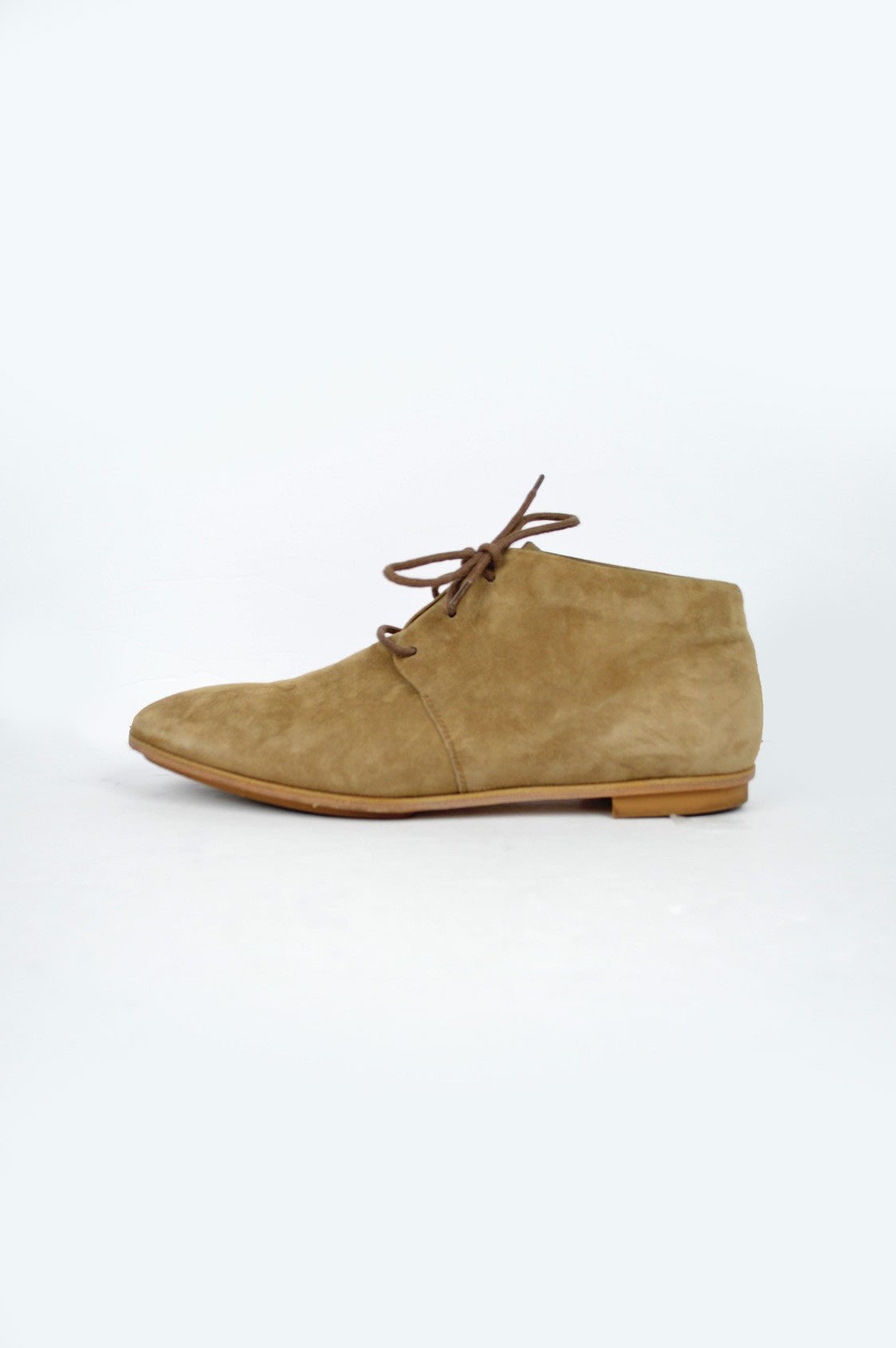 Camel Suede Chukka Shoes