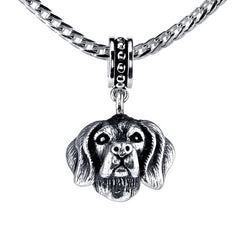 Beagle (w/fur) Pendant Necklace