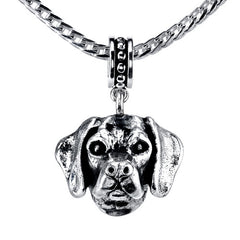 Beagle (w/o fur) Pendant Necklace