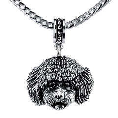 Bichon Pendant Necklace
