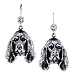Bloodhound Earrings