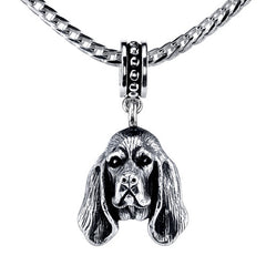 Bloodhound Pendant Necklace