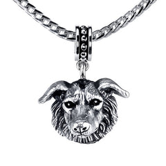 Borzoi Pendant Necklace