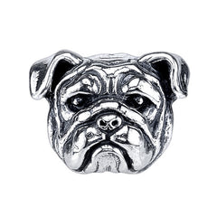 Bulldog - English Bulldog Charm Bead