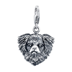 Japanese Chin Dog Charm