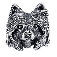 Chinese Crested Charm Bead