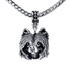 Chinese Crested Pendant Necklace