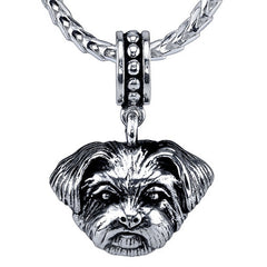 Chorkie Pendant Necklace