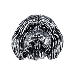 Collie - Bearded Collie Charm Bead