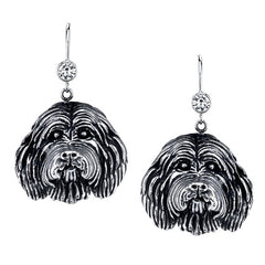 Collie - Bearded Collie Earrings