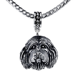 Collie - Bearded Collie Pendant Necklace