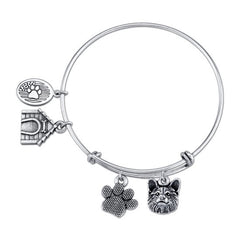 Corgi Pembroke Welsh Corgi Charm Bangle Bracelet