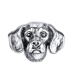 Dachshund - Smooth Haired Dachshund Charm Bead