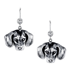 Dachshund - Smooth Haired Dachshund Earrings