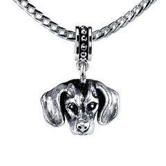 Dachshund - Smooth Haired Dachshund Pendant Necklace