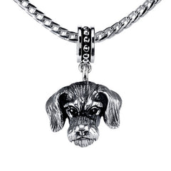 Dachshund - Wirehaired Dachshund Pendant Necklace