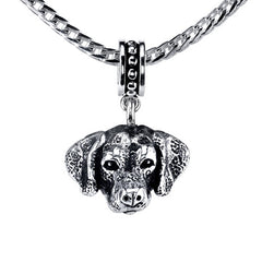 Dalmatian Pendant Necklace