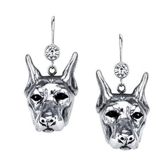 Doberman Earrings