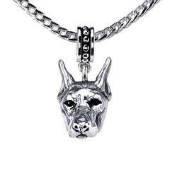 Doberman Pendant Necklace