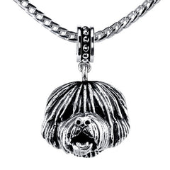 English Sheepdog Pendant Necklace