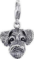 Schnoodle Dog Charm
