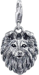 Collie Dog Charm
