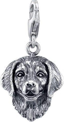 Retriever - Black Lab Dog Charm