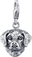 Retriever - Labrador Retriever (male) Dog Charm