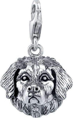 Bernese Mountain Dog Dog Charm