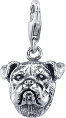 Bulldog - English Bulldog Dog Charm
