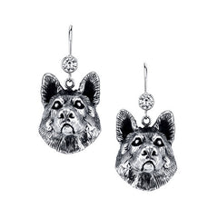 German Shepherd Earrings