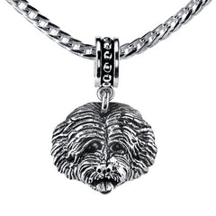 Goldendoodle Pendant Necklace