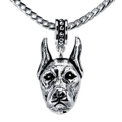 Great Dane Pendant Necklace