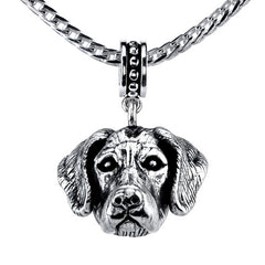 Great Dane (uncropped) Pendant Necklace