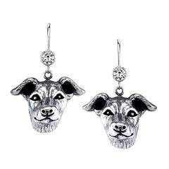 Greyhound - Italian Greyhound Earrings
