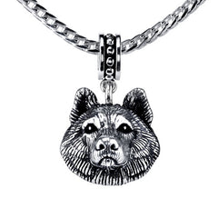Husky Pendant Necklace