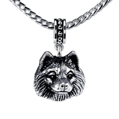 Keeshond Pendant Necklace