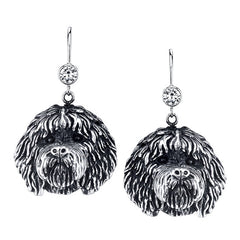 Labradoodle Earrings