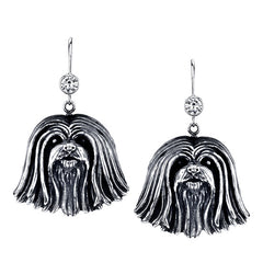Lhasa Apso Earrings