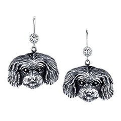 Maltipoo Earrings