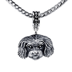 Maltipoo Pendant Necklace