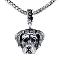 Mastiff Pendant Necklace