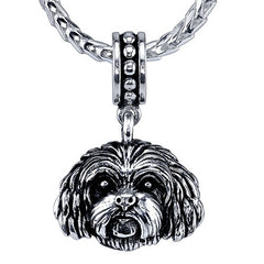 Mini Cavapoo Pendant Necklace