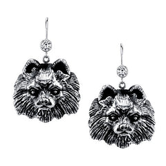 Pomeranian Earrings
