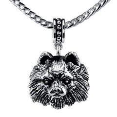 Pomeranian Pendant Necklace