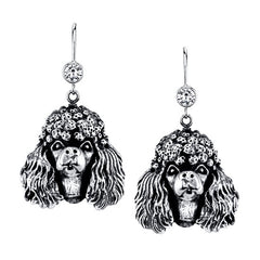 Poodle - Miniature Poodle Earrings