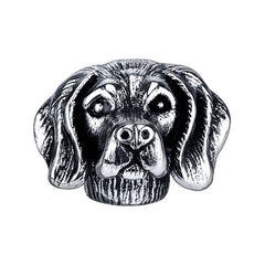 Retriever - Lab (w/fur) Charm Bead
