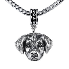 Retriever - Lab (w/fur) Pendant Necklace